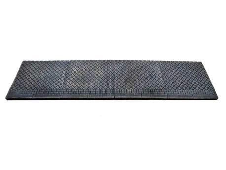 Sidewalk, square tiles – plain,28mm, 1:56 scale