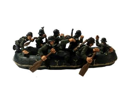 Second World War German Flossacke 34 crew, pack 2 1:56 (28mm)