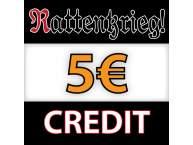 Rattenkrieg! 5€ Credit