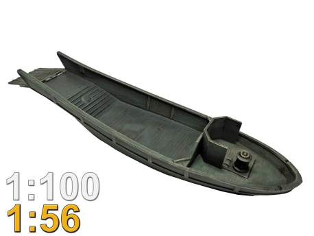 Daihatsu-class landing craft 1:56 (28mm)