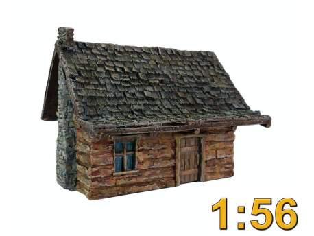 Log cabin 1:56 (28mm)