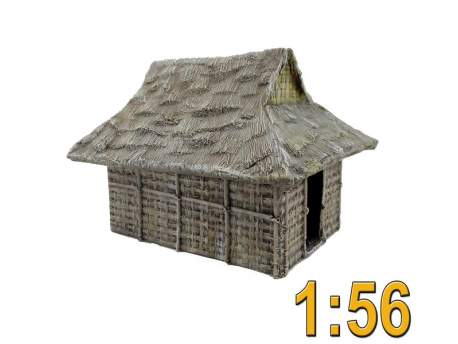 Pacific Thatched Hut 1:56 (28mm)