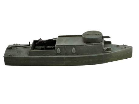 BK-2 (or Type D) Soviet Riverine Gunboat 1:56 (28mm)