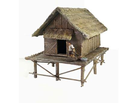 Straw Vietnam House 1:56 (28mm)